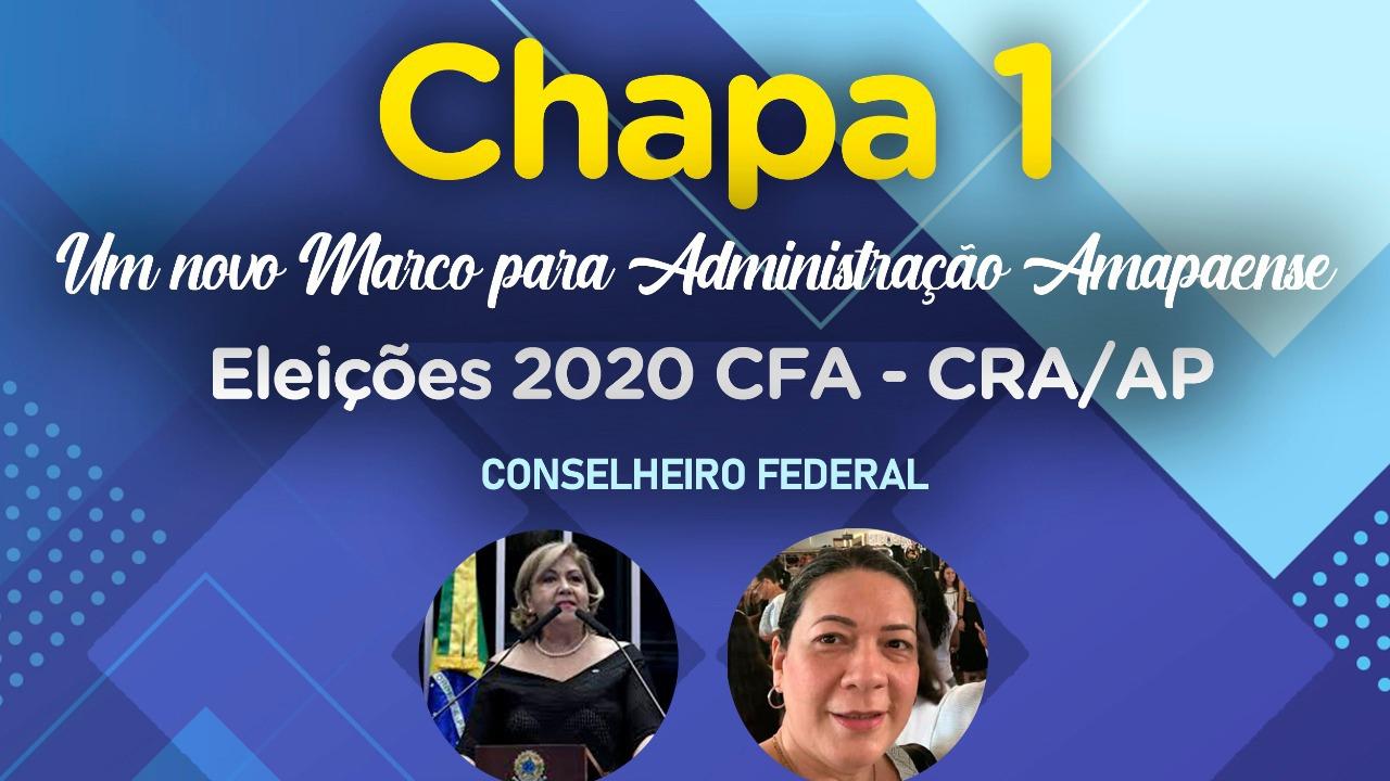 CHAPA 1- CONSELHEIROS REGIONAIS