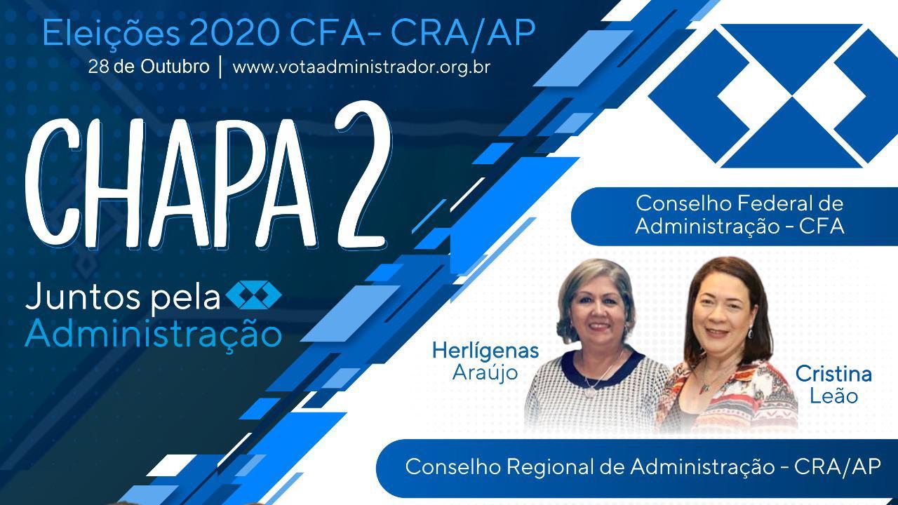 CHAPA 2 – CONSELHEIROS REGIONAIS