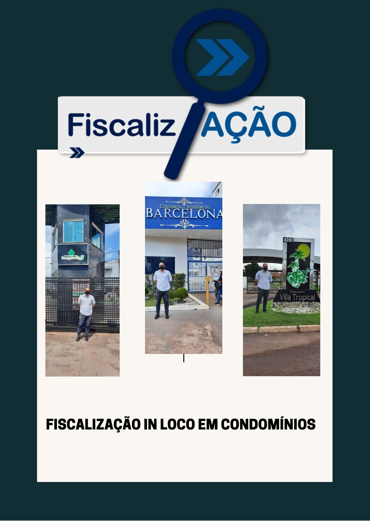 A FISCALIZAÇÃO DO CRA-AP VISITA CONDOMÍNIOS EM MACAPÁ